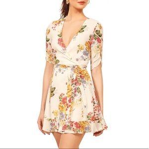 Reformation Monica Wrap Dress Bouquet Size Medium